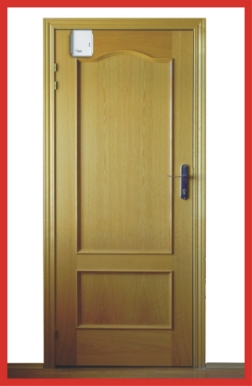 Door with Swing Door Opener